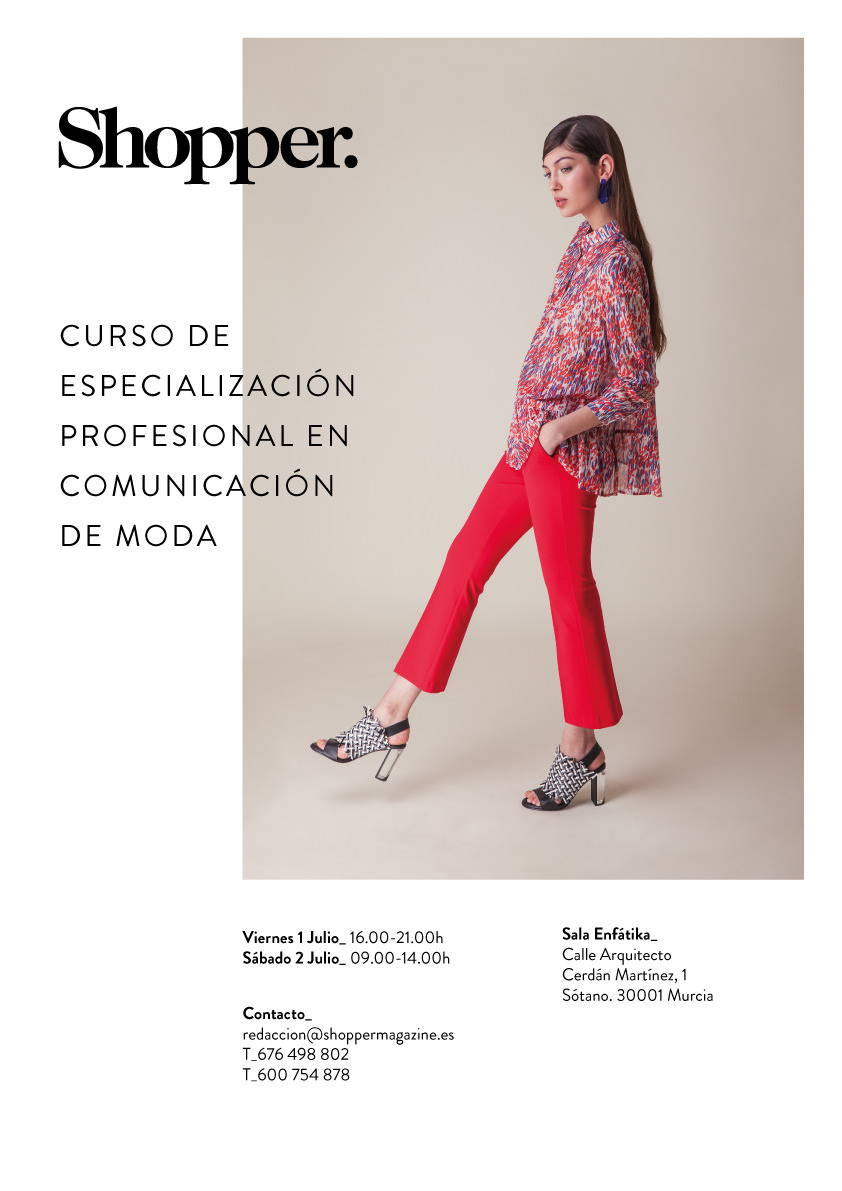 SHOPPER-Cartel-cursos-comunicación-de-moda _DigitalLight