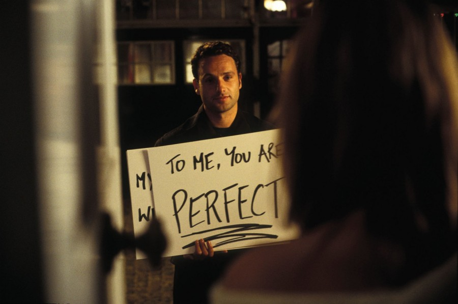 Image: 0043121985, License: Rights managed, Quality: Original. Film Title: Love Actually. Photo: Peter Mountain. Copyright: © 2003 Universal Studios. ALL RIGHTS RESERVED. LOVE ACTUALLY [BR / US 2003] ANDREW LINCOLN Quality: Original. Film Title: Love Actually. Photo: Peter Mountain. Copyright: 2003 Universal Studios. ALL RIGHTS RESERVED. Date: 2003, Model Release: No or not aplicable, Credit line: Profimedia-Red Dot, Mary Evans Picture Librar